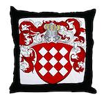 Joosten Family Crest Throw Pillow