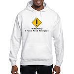 Food Allergies Hooded Sweatshirt