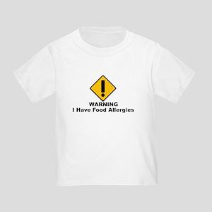 Food Allergies Toddler T-Shirt