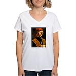 Musician Women's V-Neck T-Shirt