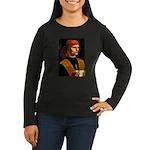 Musician Women's Long Sleeve Dark T-Shirt