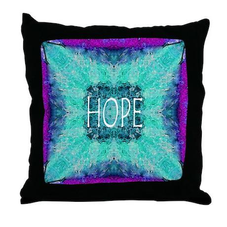Beautiful Hope Throw Pillow