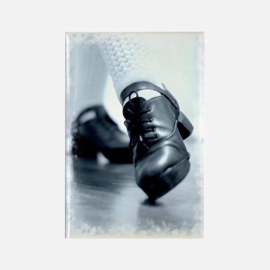 Hard Shoes Rectangle Magnet