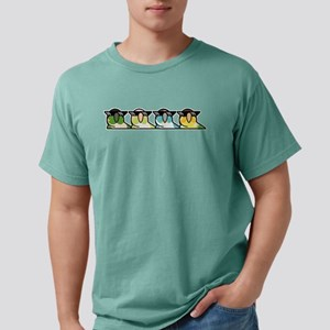 Cool Party Green Cheek Conures T-Shirt