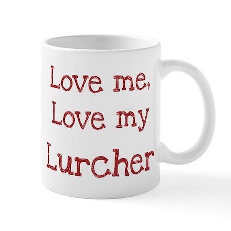 Love my Lurcher Mug