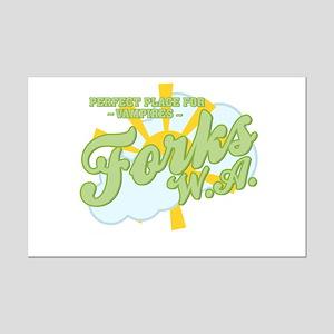 Forks - Mini Poster Print