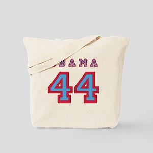 Obama 44 (red/blue) Tote Bag