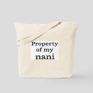 Property of nani Tote Bag