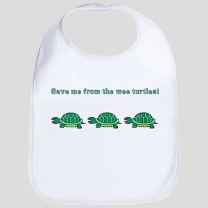 Wee Turtles Bib
