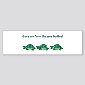 Wee Turtles Bumper Sticker