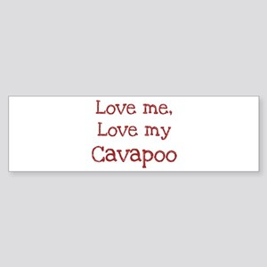 Love my Cavapoo Bumper Sticker