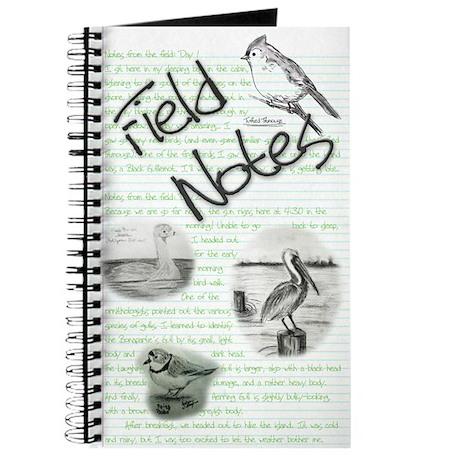 Birding Field Notebook Journal