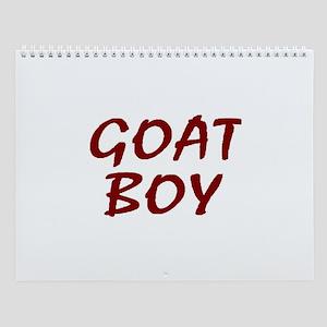 The Goat Boy Wall Calendar