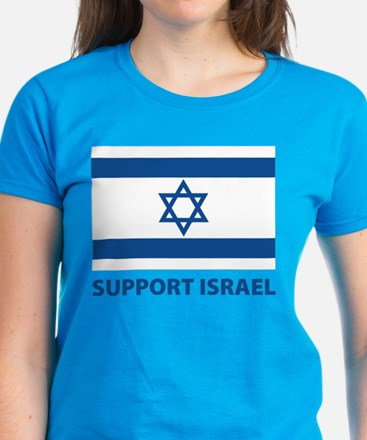 Support Israel Women's Dark T-Shirt