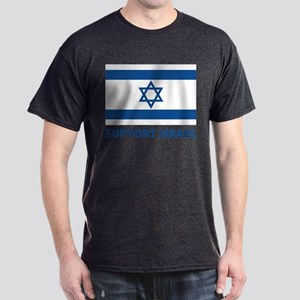 Support Israel Dark T-Shirt