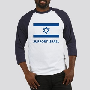 Support Israel Baseball Jersey