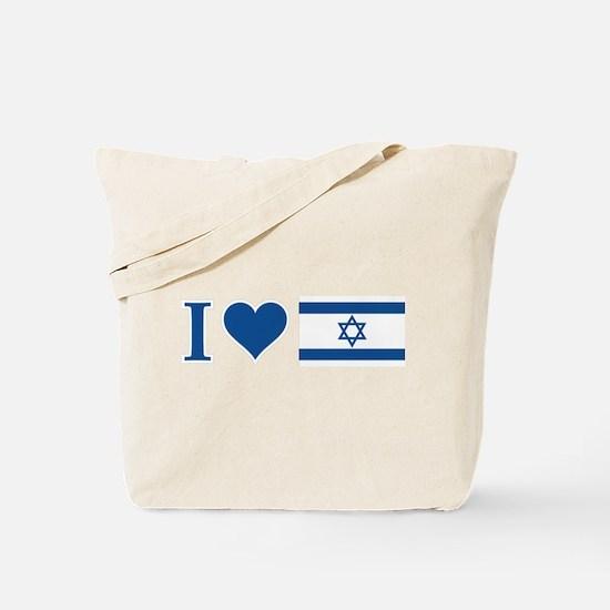 I Heart Israel Tote Bag