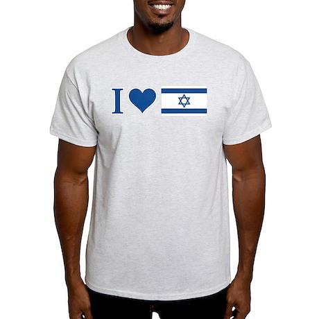 I Heart Israel Light T-Shirt