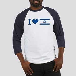 I Heart Israel Baseball Jersey