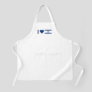 I Heart Israel BBQ Apron