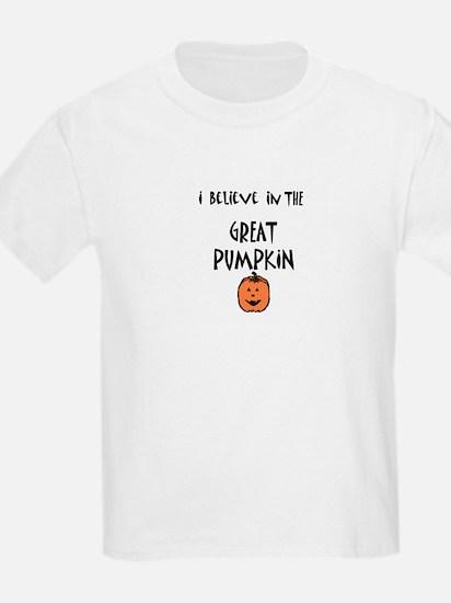 i believe in the great pumpki Kids T-Shirt
