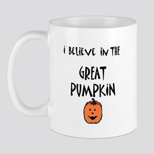 i believe in the great pumpki Mug