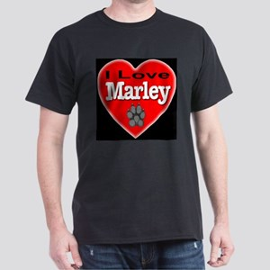 I Love Marley Dark T-Shirt