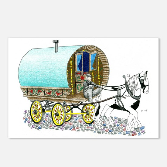 Gypsy Wagon Postcards (Package of 8)