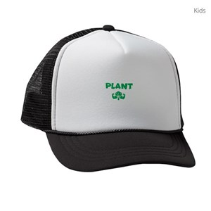 5104de24dfa46 Herbivore Kids Trucker Hats - CafePress