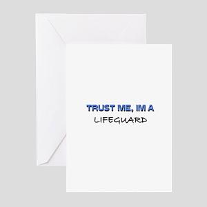 Trust Me I'm a Lifeguard Greeting Cards (Pk of 10)