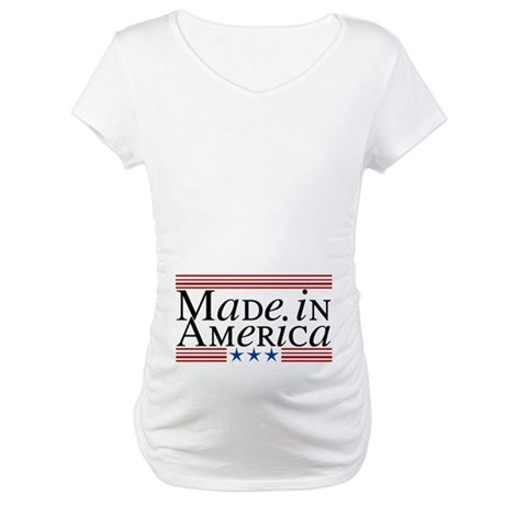 Made in America Maternity T-Shirt