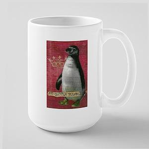 No Gluten Please Penquin Large Mug