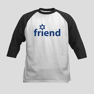 Friend of Israel Kids Baseball Jersey