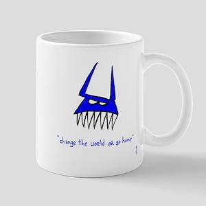 Blue Monster Mug