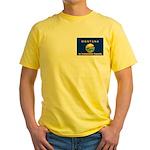 Montana-4 Yellow T-Shirt
