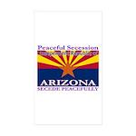 Arizona-4 Rectangle Sticker 10 pk)