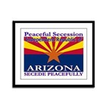 Arizona-4 Framed Panel Print