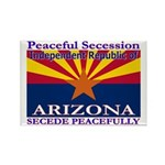 Arizona-4 Rectangle Magnet (100 pack)