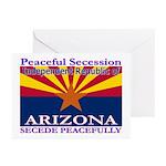 Arizona-4 Greeting Cards (Pk of 20)