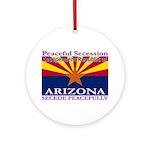 Arizona-4 Ornament (Round)
