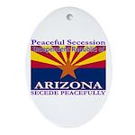 Arizona-4 Oval Ornament