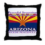 Arizona-4 Throw Pillow