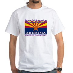 Arizona-4 White T-Shirt