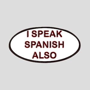 I speak spanish also Patch