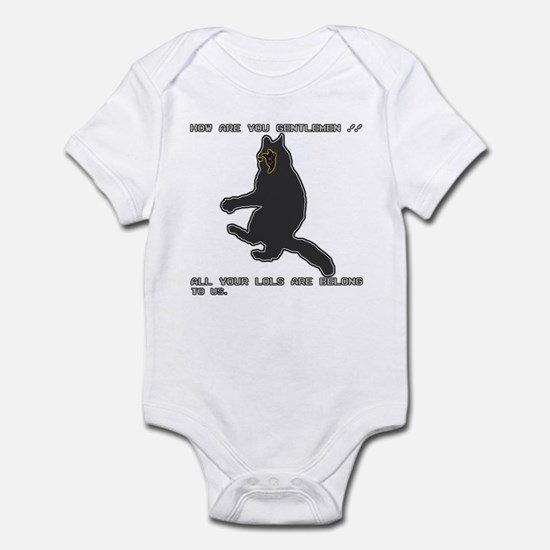 All Your LOLs Infant Bodysuit