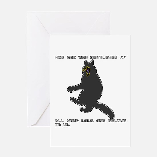 All Your LOLs Greeting Card