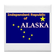 Alaska-4 Tile Coaster