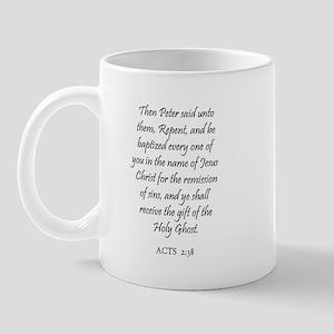 ACTS  2:38 Mug
