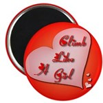 """Like a Girl"" Magnet"
