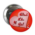 """Like a Girl"" 2.25"" Button"